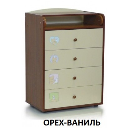 Пеленальный комод Бэби Бум Вероника