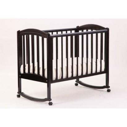 Кроватка для новорожденного Лель - Кубаньлесстрой Василёк БИ 09.0 качалка + колёса