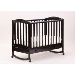 Кроватка для новорожденного Лель - Кубаньлесстрой Василёк БИ 09.1 качалка + колёса + ящик