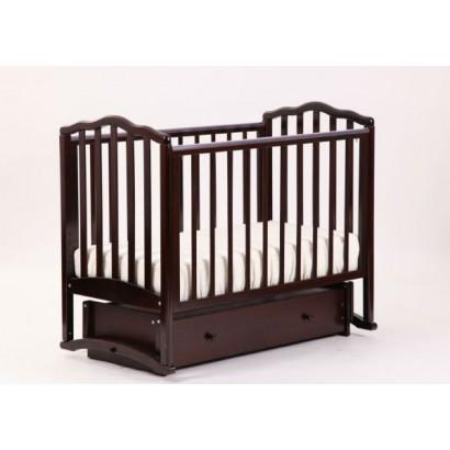 Кроватка для новорожденного Лель - Кубаньлесстрой АБ 19.4 универсальный маятник + закрытый ящик