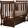 Кроватка для новорожденного Лель - Кубаньлесстрой Лаванда АБ 21.2 поперечный маятник + закрытый ящик