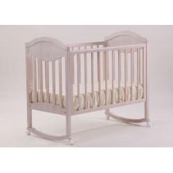Кроватка для новорожденного Лель - Кубаньлесстрой Камелия АБ 23.0 качалка + колёса