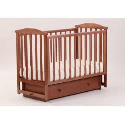 Кроватка для новорожденного Лель - Кубаньлесстрой Лютик АБ 15.2 поперечный маятник + закрытый ящик