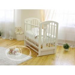 Кроватка для новорожденного Можга Красная звезда Агата С718 поперечный маятник
