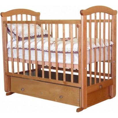 Кроватка для новорожденного Можга Красная звезда Ирина С-625 поперечный маятник + закрытый ящик