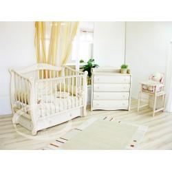 Комната для младенца Благородная коллекция Лунная соната Можга Красная звезда С707, С565, матрац Зима/лето