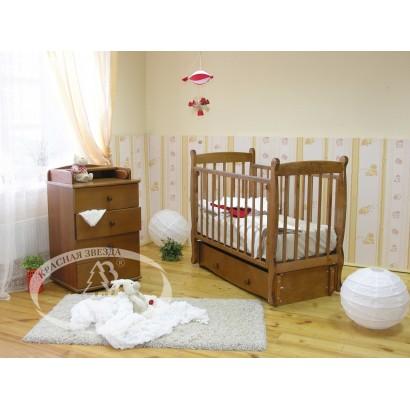 Детская комната Резная коллекция Красная звезда Можга С-717, С-241