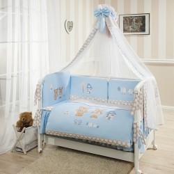 Комплект в кроватку Perina Венеция, 7 предметов Сатин Премиум класс