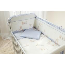 Комплект в кроватку Perina Тиффани, 7 предметов, Премиум класс, сатин