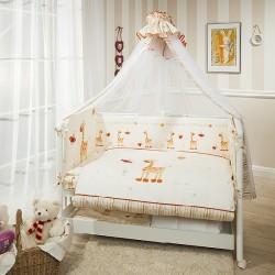 Комплект в кроватку Perina Кроха 7 предметов, серия Элит