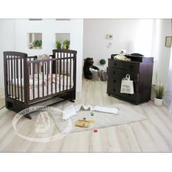 Комната новорожденного Можга Классика. Шоколадная Берлога С700, С571 Красная звезда