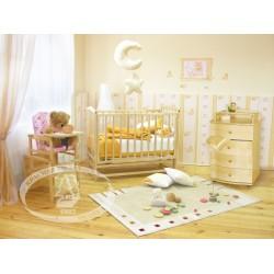 Комната новорожденного Можга Классика. Кленовый сироп С619, С439, С374 Красная звезда