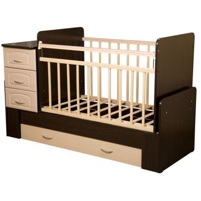 Детская кровать-трансформер-маятник Антел Ульяна-1