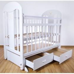 Детская кроватка для новорожденного-поперечный маятник Briciola-5