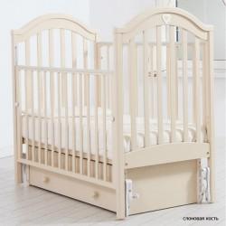 Детская кроватка для новорожденного Gandylyan Софи с универсальным маятником (Гандылян)