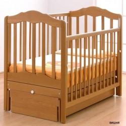 Детская кроватка для новорожденного Gandylyan Анастасия с универсальным маятником (Гандылян)