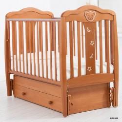 Детская кроватка для новорожденного Gandylyan Мишель с универсальным маятником (Гандылян)