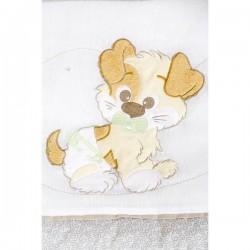 Одеяло для новорожденных Giovanni Puppy 100x120 см (Джованни)