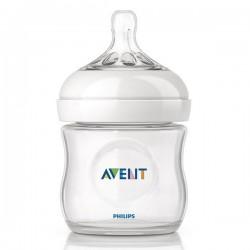 Бутылочка для кормления из серии Natural, 125 мл (соска для кормления новорожденных) Avent SCF690/17 (Авент)