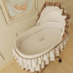 Набор постельного белья для колыбелей 2 предмета Makkaroni Kids Тедди (Маккарони Кидз)