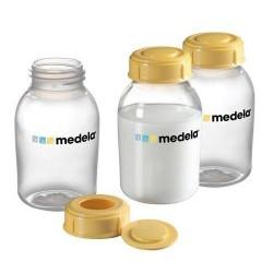 Бутылочка-контейнер для сбора грудного молока Medela 150 мл. 3 шт. арт.008.0073 (Медела)