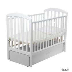 Детская кроватка для новорожденного-маятник Papaloni Джованни 125x65 см (Папалони)