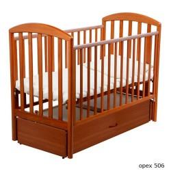 Детская кроватка для новорожденного-продольный маятник Papaloni Джованни 120x60 см (Папалони)