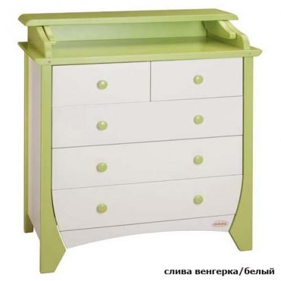 Комод пеленальный Papaloni Olivia 650 (Папалони)