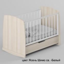 Детская кроватка для новорожденного Атон Сашенька