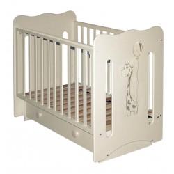 Детская кроватка поперечный маятник с ящиком Laluca Руслана (Жирафик) Можгинский лесокомбинат