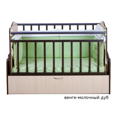 Детская автоматическая кроватка Укачай-ка 02