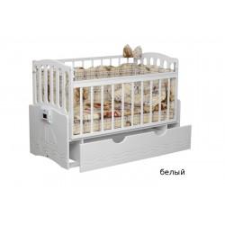 Детская автоматическая кроватка Укачай-ка 03