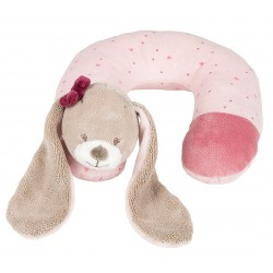 Подушка-подголовник Nattou Neck pillow Nina, Jade & Lili Кролик 987394