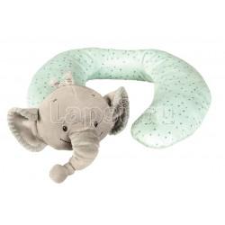 Подушка-подголовник Nattou Neck pillow Jack, Jules & Nestor Слоник 843409