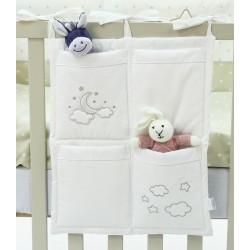 Органайзер с карманами на кроватку Funnababy Luna Chic 40х50 см