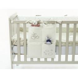 Органайзер с карманами на кроватку Funnababy Luna Elegant 40х50 см