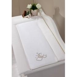 Полотенце-уголок Funnababy Luna Elegant 90x90 см + варежка