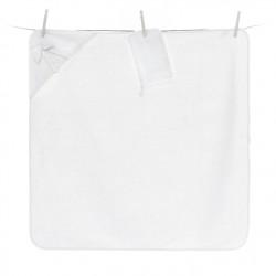 Полотенце-уголок Funnababy Premium Baby White 90x90 см + варежка