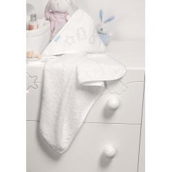 Банное полотенце 70х70 см с уголком Micuna Juliette TX-836