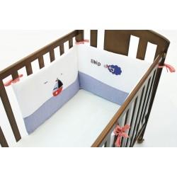 Бортик короткий для кровати 120x60 см Funnababy Marine