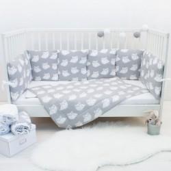 Бортики подушки «Совушки»