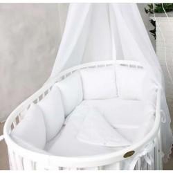 Подушки бортики в кроватку «Ангелочек»