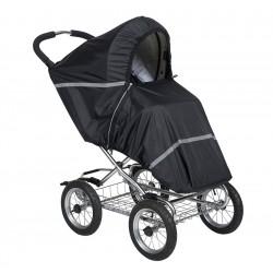 Дождевик для прогулочной коляски Tullsa Black 43702