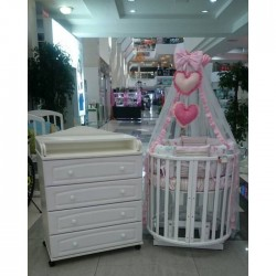 """Детская комната для новорожденного """"Маленькая принцесса"""" 3 предмета"""