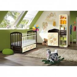 Детская комната для новорожденного Антел Интерьер №16 2 предмета
