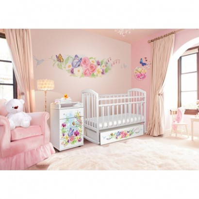 Детская комната Антел Интерьер №18 2 предмета