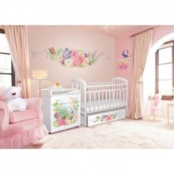 Комната для новорожденного Антел Интерьер №19 2 предмета