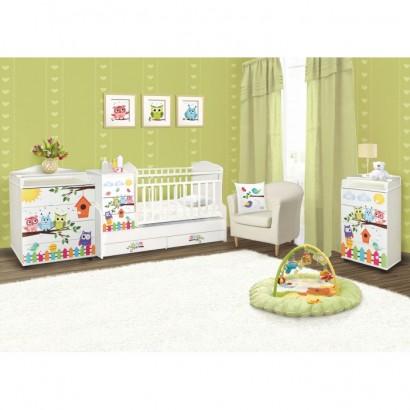 Детская комната Антел Интерьер №2 3 предмета