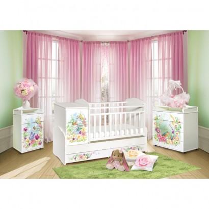 Детская комната Антел Интерьер №20 3 предмета