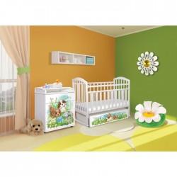 Детская комната Антел Интерьер №21 2 предмета